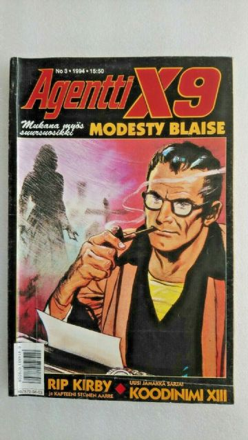 Agent X9 Modesty Blaise! Issue 3 1994 Finnish  language Edition